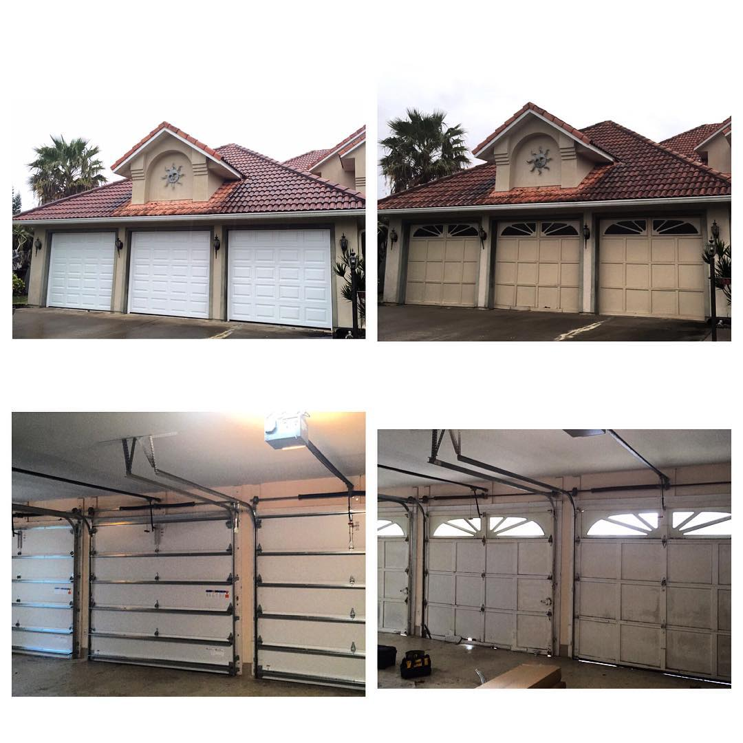 Garage door services central florida overhead door of for Garage door repair st augustine fl